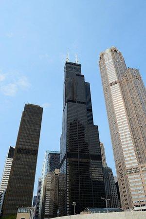 Vue D 39 En Haut 2 Picture Of Skydeck Chicago Willis