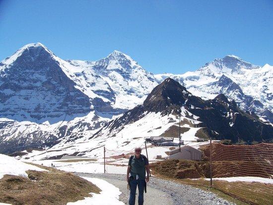 The Monch, Eiger & Junfrau from Mannlichen