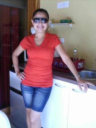 Villa Punta Salina: Fotito en la cocina