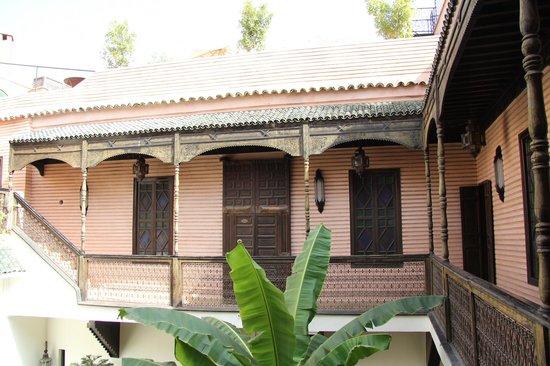 Riad Ilayka : The room entrance