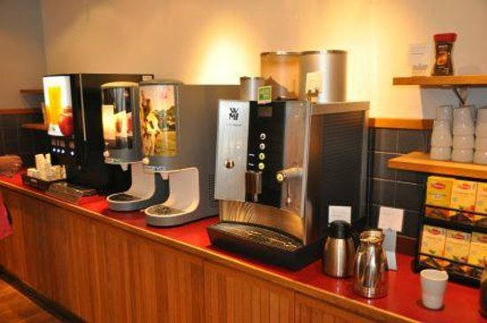 Scandic Hotel Portalen: große Auswahl an Getränken