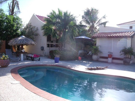 Villa Punta Salina: Pool Area and View from