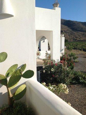 Sun Anemos Resort: вход в апартаменты