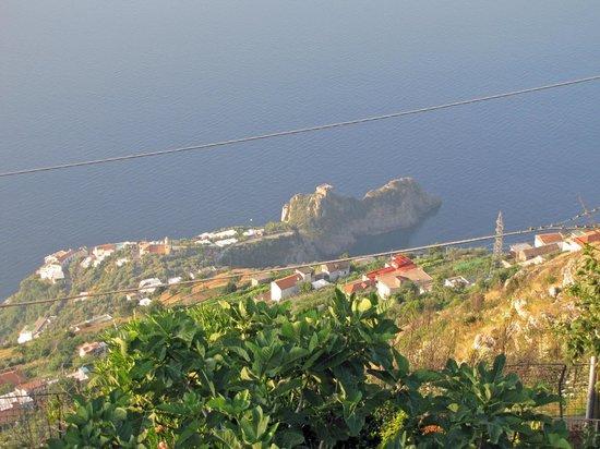 Nido Degli Dei: View from the terrace of Conca Dei Marini