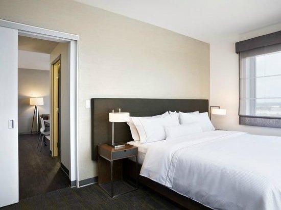 Element Vaughan Southwest: One Bedroom Suite Bedroom