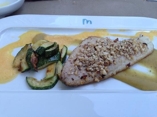 Brasserie Marblau: Fisch filet