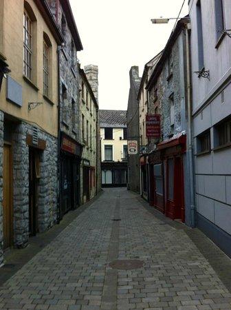 Ennis Walking Tours: A street in Ennis