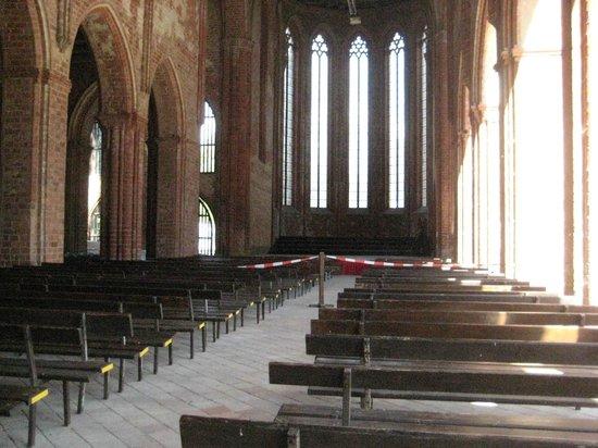 Boat Lift (Schiffshebewerk) Niederfinow: Klster Chorin ehemalige Kirche