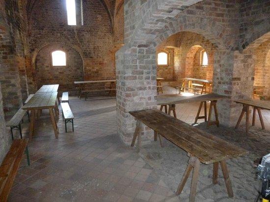 Boat Lift (Schiffshebewerk) Niederfinow: ehemalige Küche im Kloster Chorin