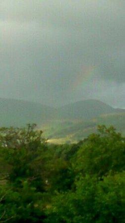 Hillside: Rainbow over Skiddaw