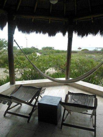Hotel Xixim: vista desde la terraza de la habitación