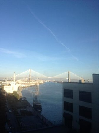 Hyatt Regency Savannah: view from room