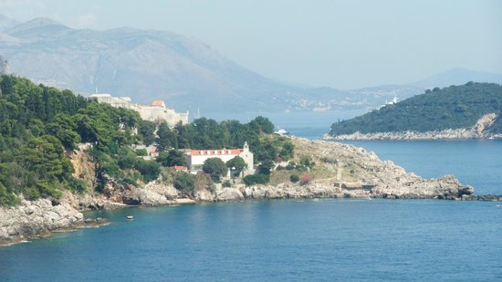 Rixos Hotel Libertas: View of the bay from the sun terrace