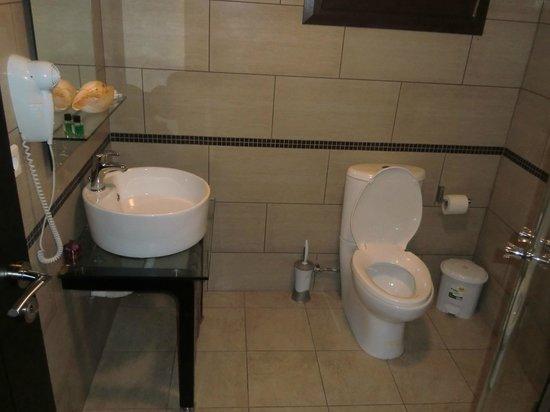 Areti Suites: bagno