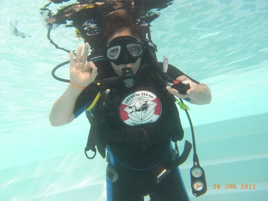 Crystal Clear Diving Phuket : I'm OK!!!