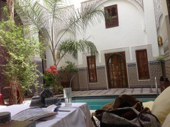 Riad & Spa Esprit du Maroc: Le patio