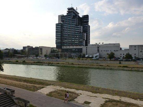 Hostel Iguana: View from the window