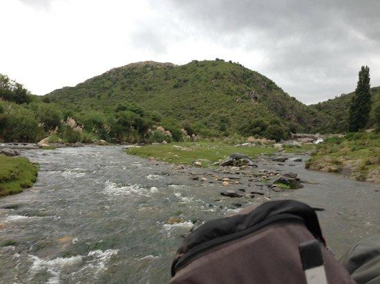 Estancia Puesto Viejo: river