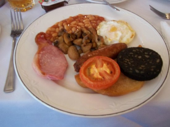The Broadway Hotel: great breakfast