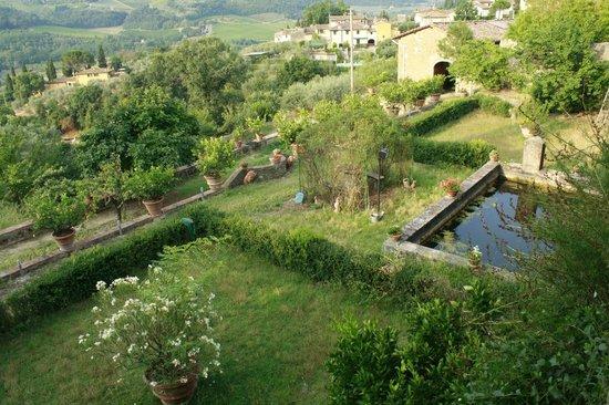 Agriturismo I Casalini: Jardin