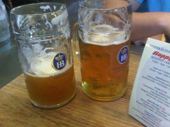 Hofbrauhaus Newport: Fantastic German Style Beer