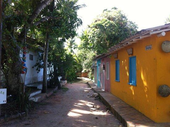 Pousada Capim Santo: Rua do Beco, chegando na Pousada