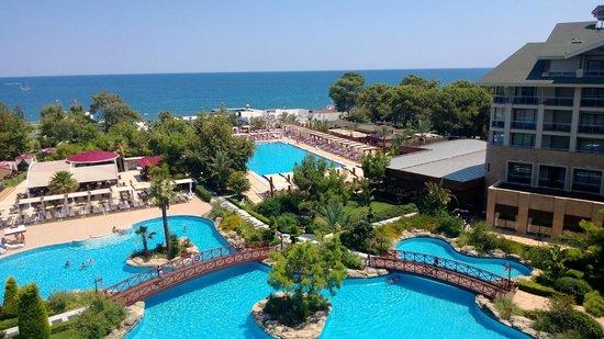 Avantgarde Hotel & Resort: 2427 сразу порадовал вид с балкона