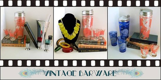 Vintage Barware at Vintage 329