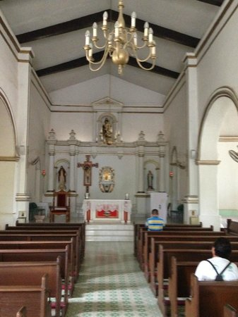 Parroquia San José: inside the church