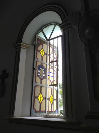 Mission of San Jose del Cabo Church: stained glass