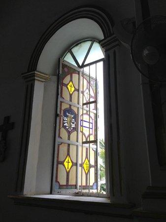 Parroquia San José: stained glass