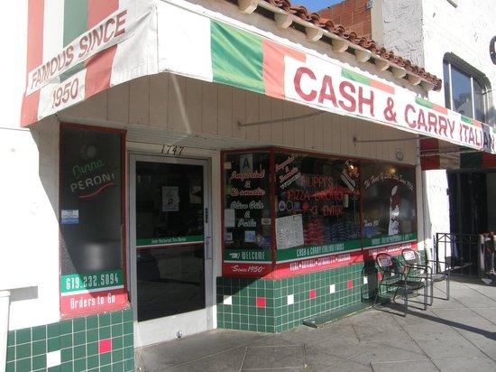 Filippi's Pizza Grotto : Filippi's Store Front 2