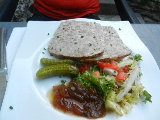 Restaurant Le Melody: terrine de campagne