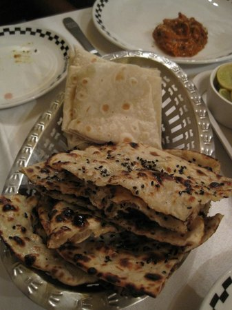 Trishna : Great seafood + noteworthy buttered naan.