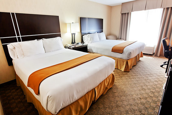 Holiday Inn Express Bothell-Canyon Park (I-405): Two Queen Room