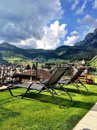 Garni Hotel La Tambra: terrazza panoramica