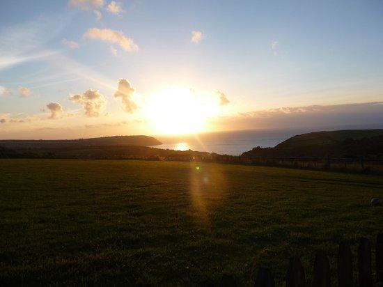 Plas-y-Wern: Sunset