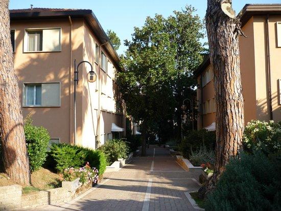 The Church Village : les 4 batiment des chambres