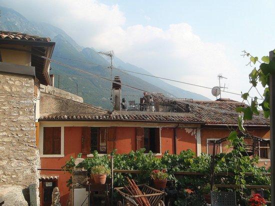 Ristorante Paradiso Perduto: Udsigt den anden vej
