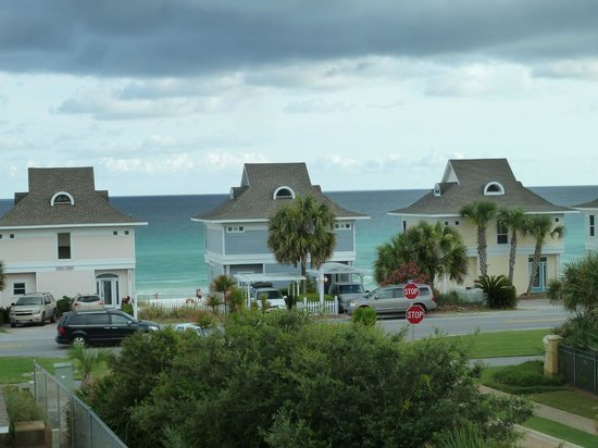 Gulfview Condominiums: View of across the street, from our 3rd floor balcony