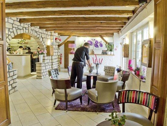 Hotel du Lac de Madine: Salon Réception Hôtel