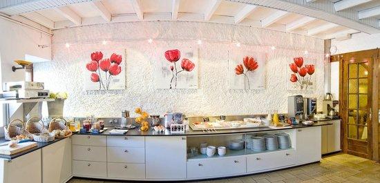 Hotel du Lac de Madine: Buffet Petit Déjeuner