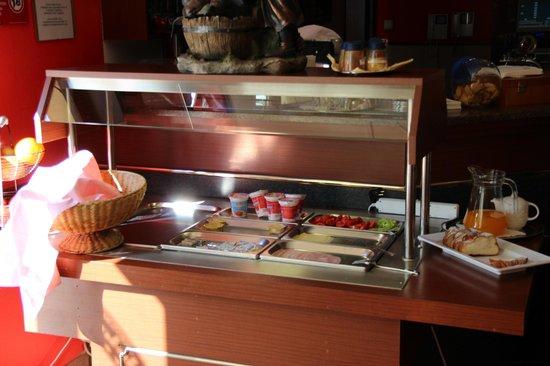 Hotel Barbakan: The breakfast