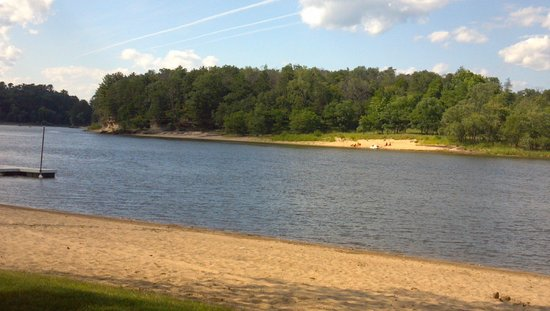 Cedar Lodge & Settlement: The beach area view #1