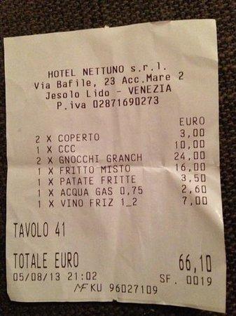 Ristorante Pizzeria Frontemare Nettuno: hanno voluto anche i 10 centesimi per una cena schifosa!