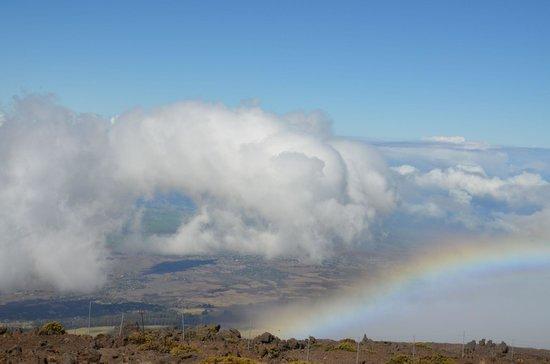 Haleakala Crater: Auffahrt zum Haleakala