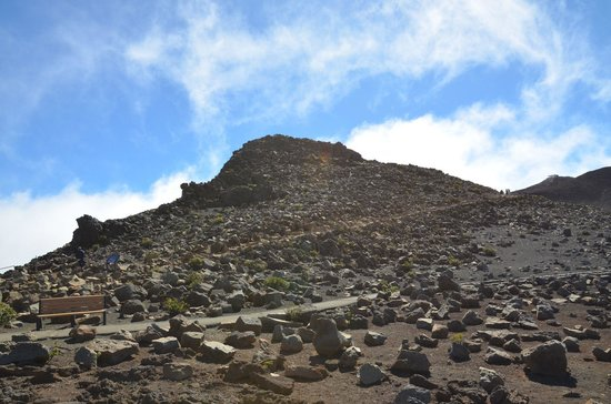 Haleakala Crater: Red Hill 3.055 m