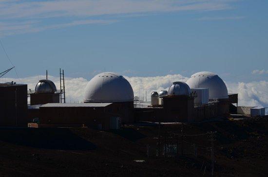 Haleakala Crater: Science-City