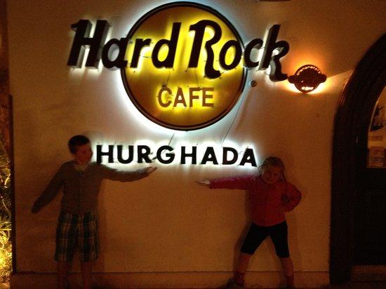 Hard Rock Cafe Hurghada : Velkommen