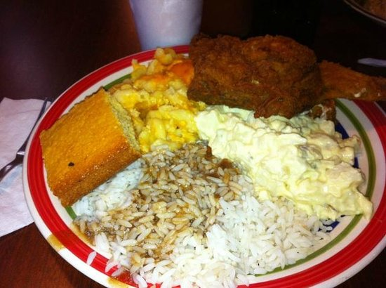 Big Mike's Soul Food : Blue Plate - Chicken